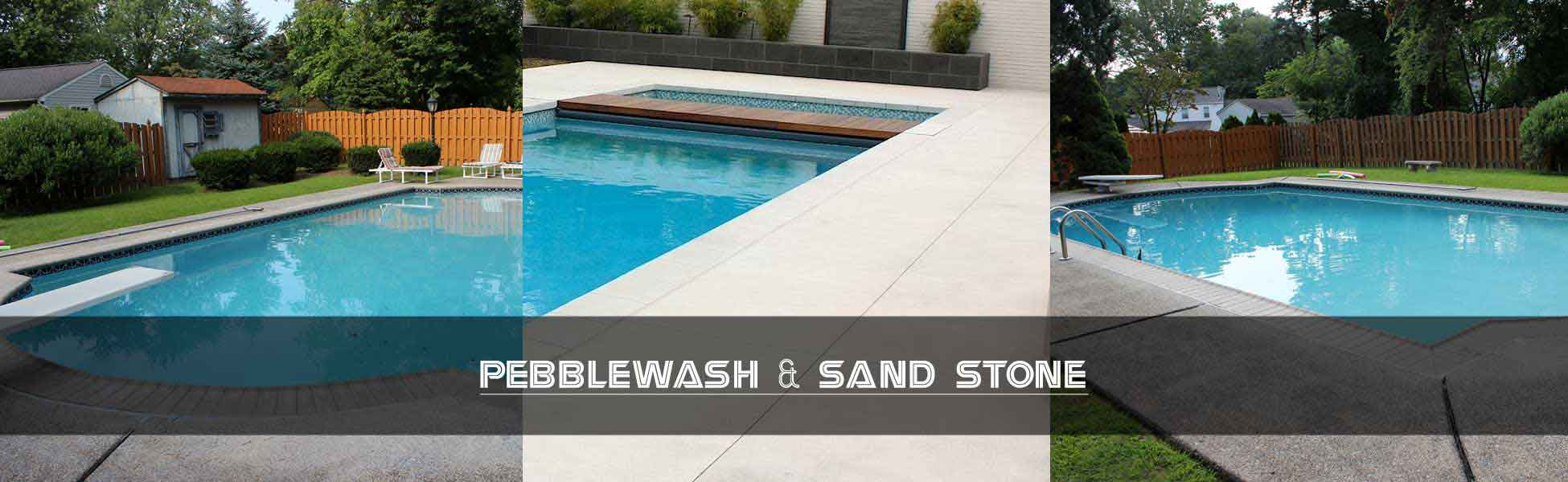 Pebblewash And Sand Stone