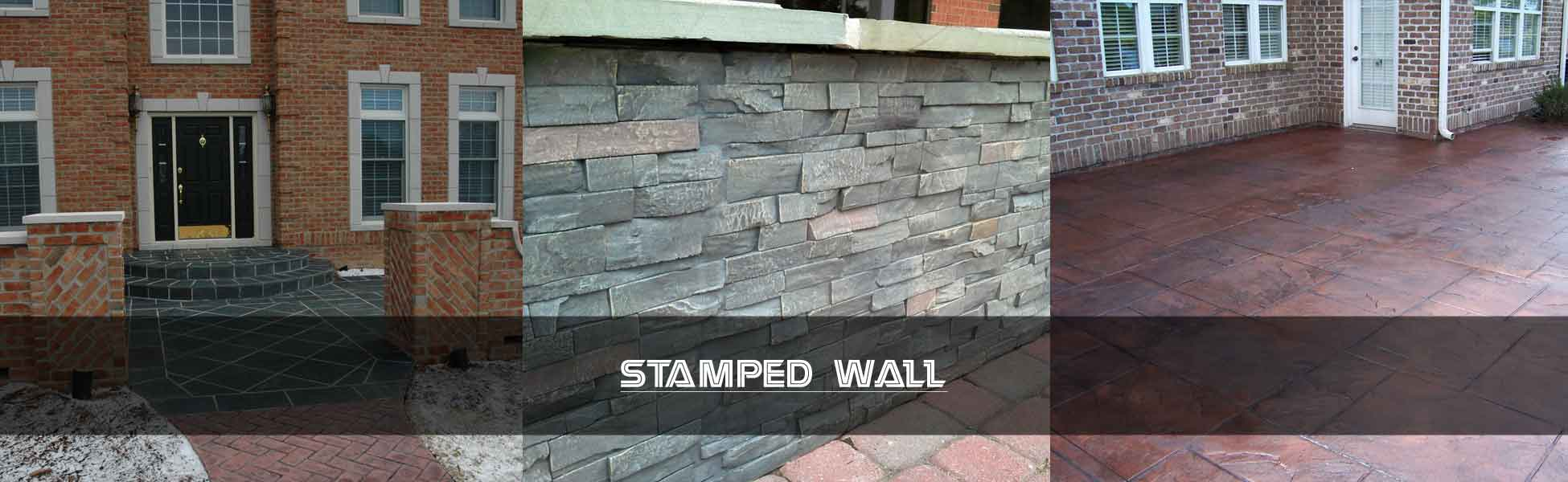 Stamped Wall