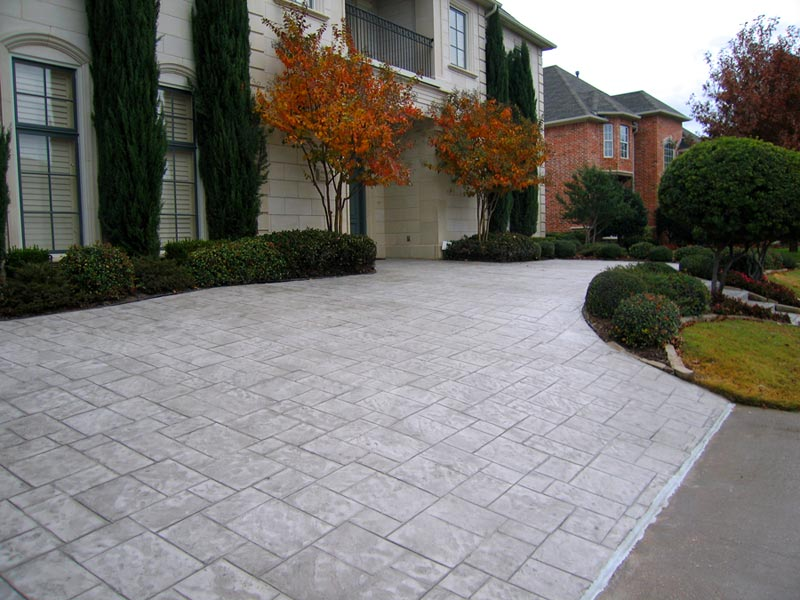 Pattern - Ashlar Slate - Stamped Concrete